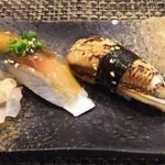 玄海鮨 - 追加  アナゴ  サバ
