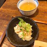 102261020 - 本日の小鉢(ポテトサラダ)