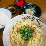 おいしん坊 - そば定食(650円)