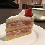 ラウンジいちい - 料理写真:いちごのショートケーキ