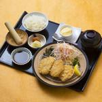 三元豚ヒレカツ定食
