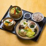 健康お野菜ランチ 豆腐ハンバーグ