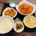 永利 - エビのチリソース(1,030円)