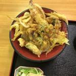 新湊きっときと市場 - 海鮮天丼アップ