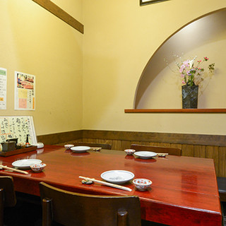 ご家族での団らんから会食まで、趣のある空間で素敵なひとときを