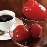 和風レストラン 麻希 - トマトのデザート