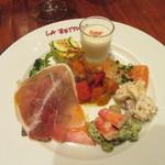 ikebukuro LA BETTOLA da Ochiai - 「前菜盛り合わせ」