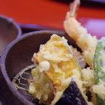 谷中魚善 - 天麩羅(てんぷら)
