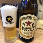 昇龍 - 瓶ビール550円