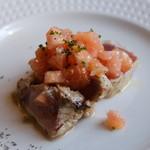 Al che-cciano - 料理写真:ビンチョウマグロの炙り