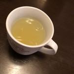 韓国家庭料理 唐辛子 - アイス  ゆず茶