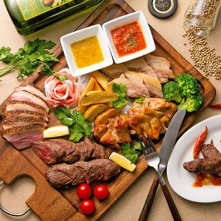 新鮮な食材による贅沢なお料理の数々♪