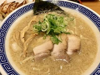 大志軒 多賀城店 - 私は「濃厚豚骨醤油麺」にしてみました!