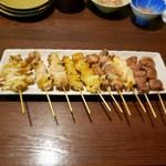 串焼き か楽 - 串10本盛り