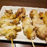 串焼き か楽 - 軟骨と鳥串