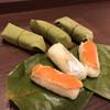 和歌山 水了軒 - 料理写真:柿の葉寿司 880円