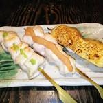 Haraguroya - ささみ山葵 ささみ明太子 ささみチーズ