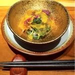 ハチイチ レストラン - 菊花ジュレ