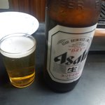 スタンド富久 - ビールはアサヒ大瓶のみ。