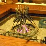 10229873 - 岩魚チャンが焼かれております♪