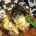 Haraguroya - カキの天ぷらみぞれあん