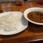 インドール - 唐揚げカレー(10倍)