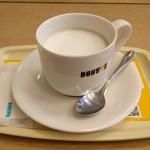 ドトールコーヒーショップ - ドリンク写真:ほうじ茶ラテのMサイズ