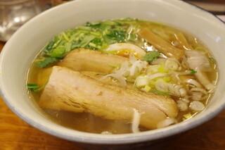 麺屋ひょっとこ 交通会館店 - 和風焼豚麺、大盛