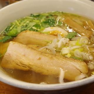 麺屋ひょっとこ - 料理写真:和風焼豚麺、大盛