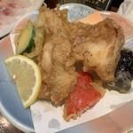 味の樹 - 鶏の天ぷら