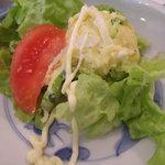 TULIPS CAFE - セットのサラダ
