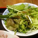 ShiKaDa屋 煮ると - 定食のサラダ