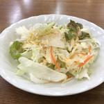 東洋軒 - サラダ
