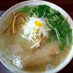 らー麺山之助 - 料理写真:ゆず塩白湯麺780円