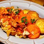 クラフトビアハウスモルト - 愛媛県産松山地鶏と野菜のトマト煮