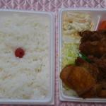 味のふるさと - 料理写真:1番人気のから揚げ弁当