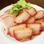 らあめん厨房 どる屋 - お持ち帰り用、焼豚スペシャルパック(3種類焼豚入り)1000円