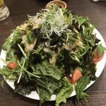 102305563 - 水菜と長芋サラダ
