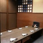 完全個室と名古屋コーチン 鳥よし  - ゆったりとした個室