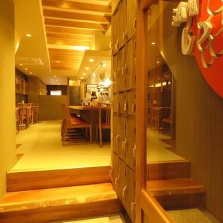 木屋町通りの和空間へ。気軽に和食とお酒を愉しむ上質な時間を。