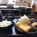 まんぷく処 どんぶり勘定 - ヘルシー定食B700円をいただきました(2019.2.21)