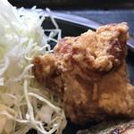 まんぷく処 どんぶり勘定 - 下味がしっかり美味しい鶏唐揚げ(2019.2.21)