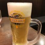 目利きの銀次 - 生ビール 99円(107円)
