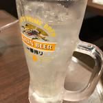 目利きの銀次 - レモンサワー 99円(107円)