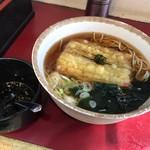 丹波屋 - ごぼう天そば370円