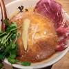 牛骨ら~めん ぶっこ志 - 料理写真:SPICY牛白湯肉増し1180円