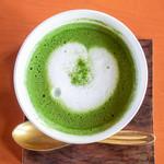 茂庵 - ドリンク写真:抹茶ミルク