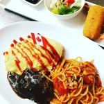 290種類のオムライス 洋食屋バンフィール - 人気の洋食メニューがいろいろ楽しめます