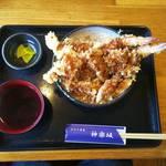 手打ち蕎麦 神楽坂 - 天丼