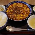 四川家庭料理 中洞 - 中洞特製麻婆豆腐ランチ